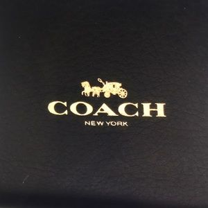 COACH Pebble leather,